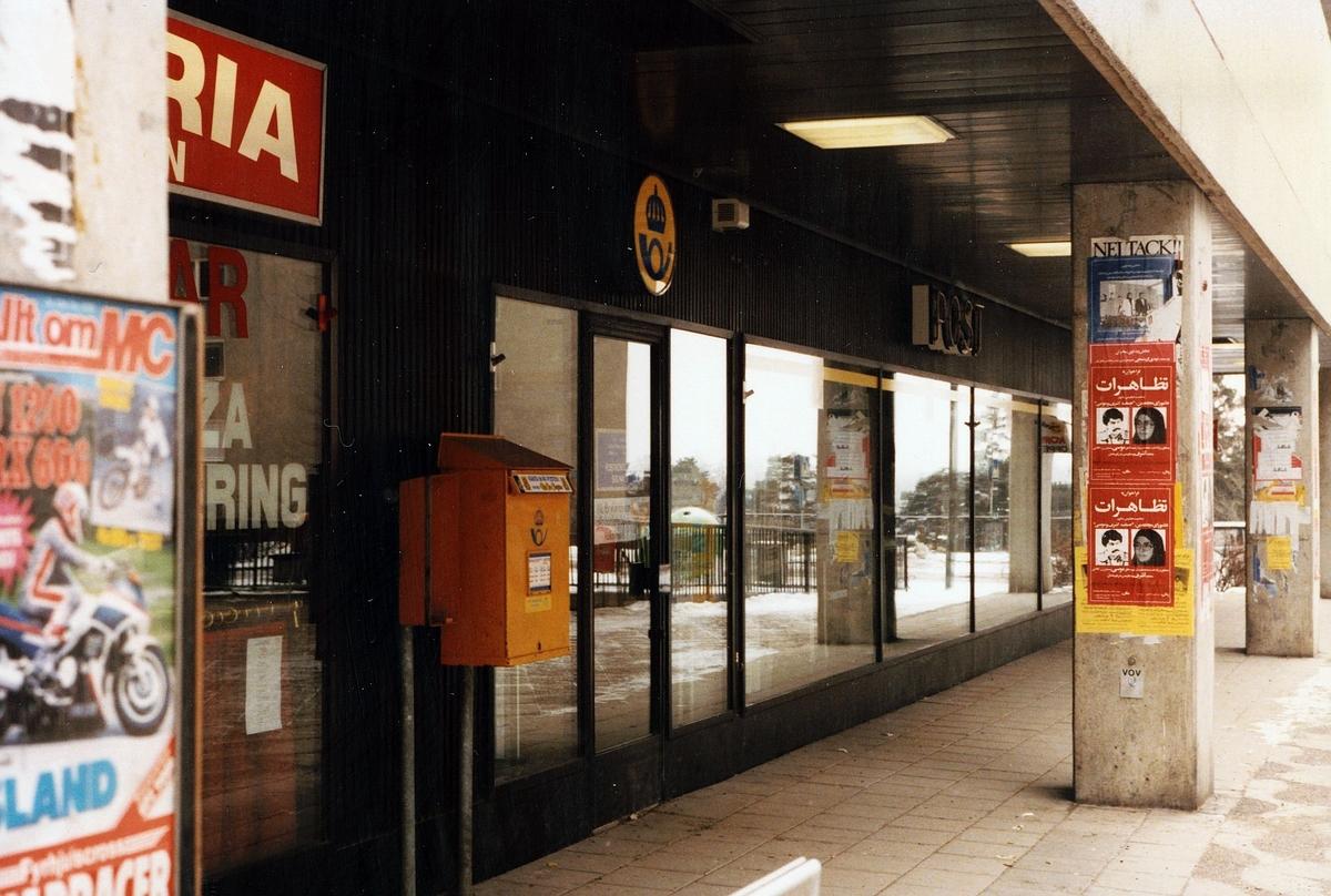 Postkontoret 171 09 Solna Johan Enbergs väg 10