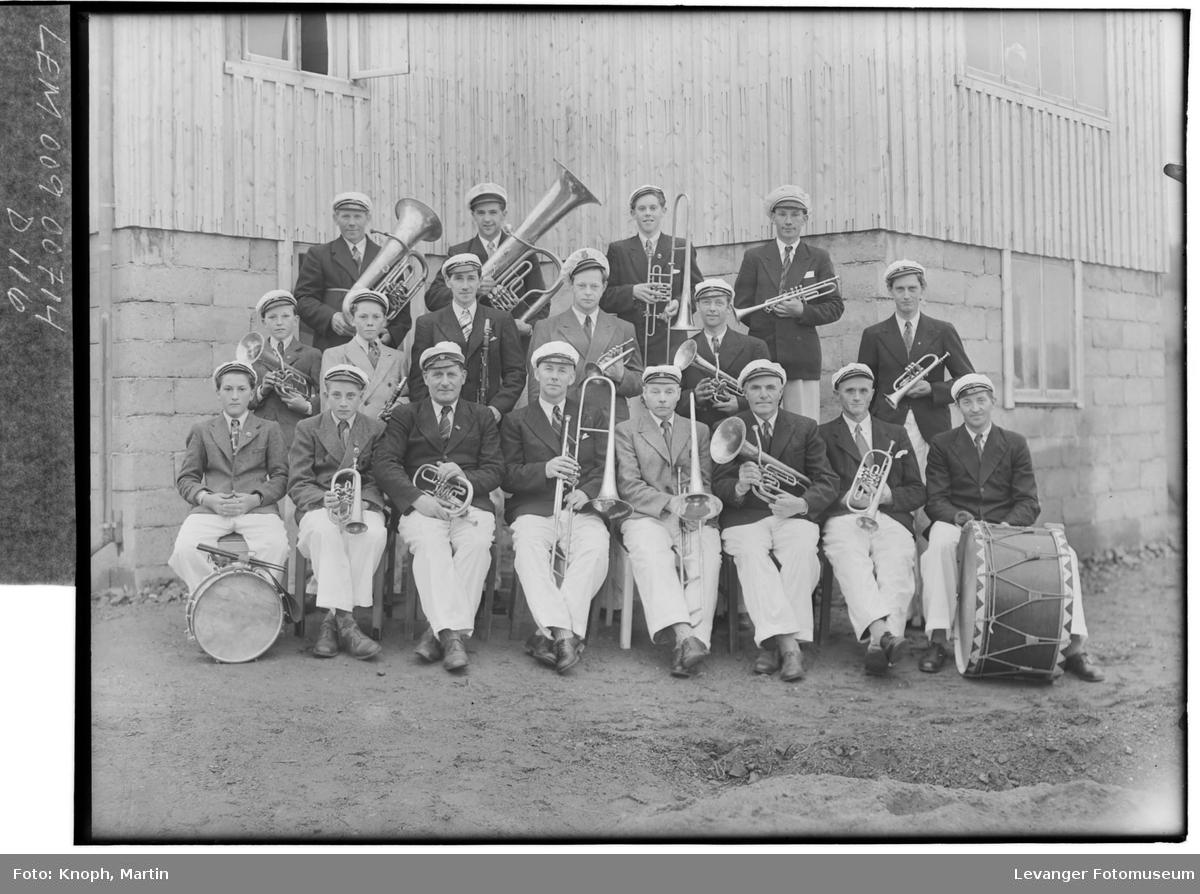 Stod Musikkorps i 1951