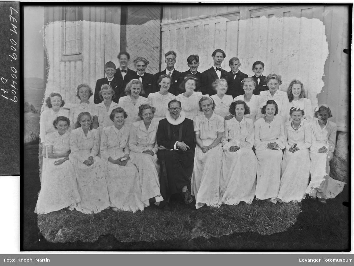 Konfirmantgruppe, 1950.  III