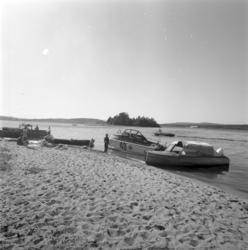 Båten Gepard vid Sanna på Brämön.