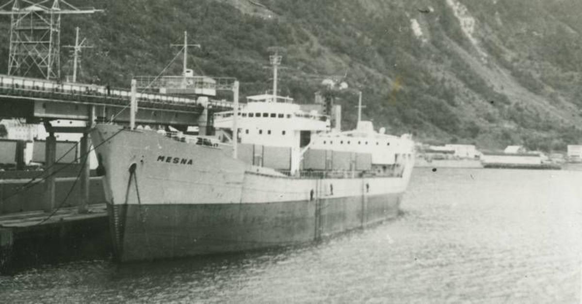 """Mesna""  ved kai 3 i Narvik."