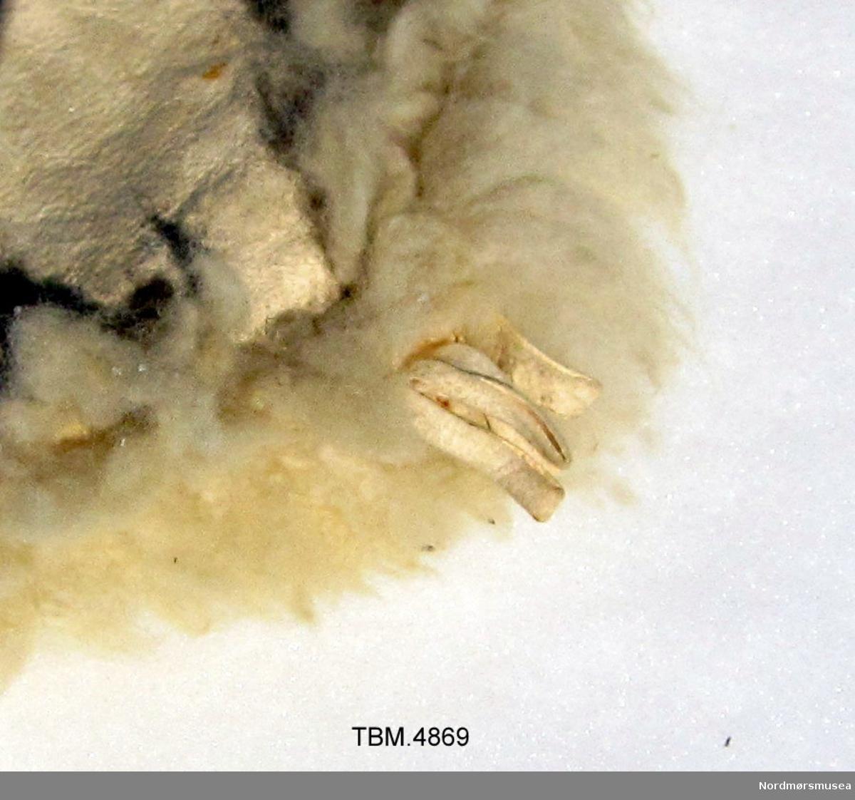 Stor skinnfell samansydd av seks skinn.