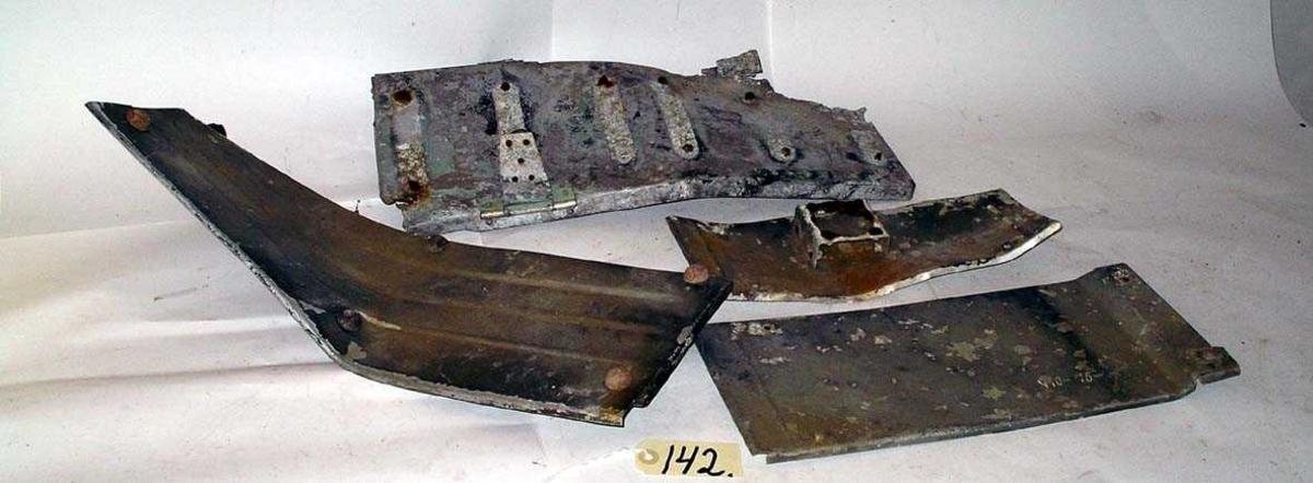 Tatt ut av komponentlager for bruk i Junkers Ju-88 wnr 0881203 4N+EH som er under restaurering ved NLM (2015).