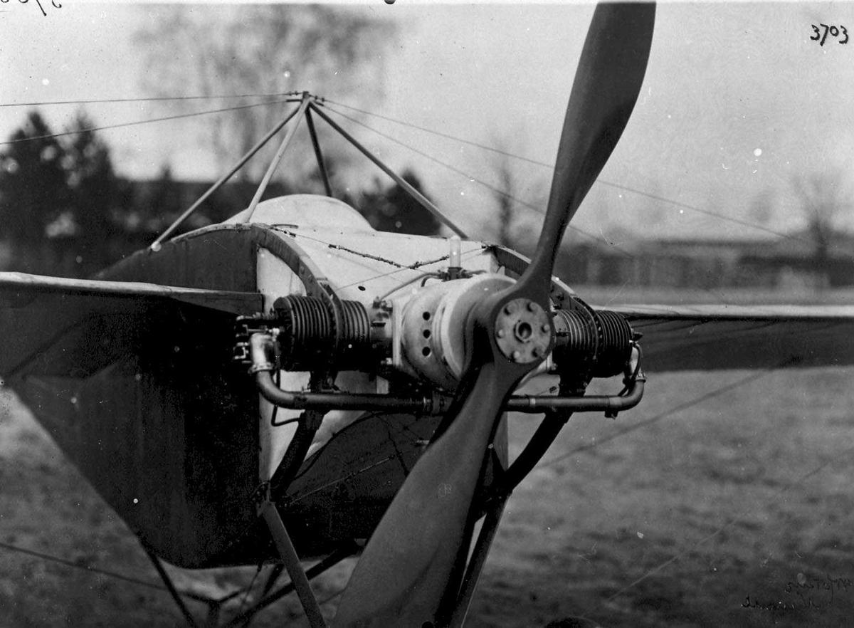 Ett fly på bakken, Nieuport. Nesepartiet.