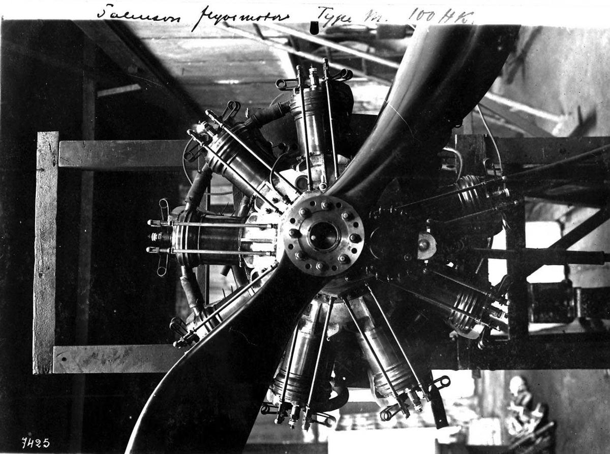 Motor. Salmson flymotor type M.