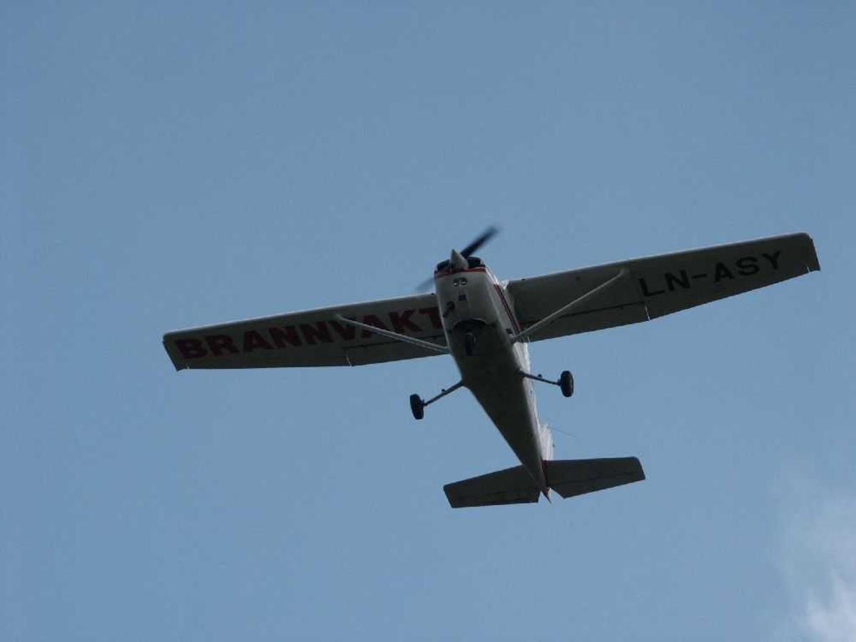 Luftfoto av Cessna, LN-ASY