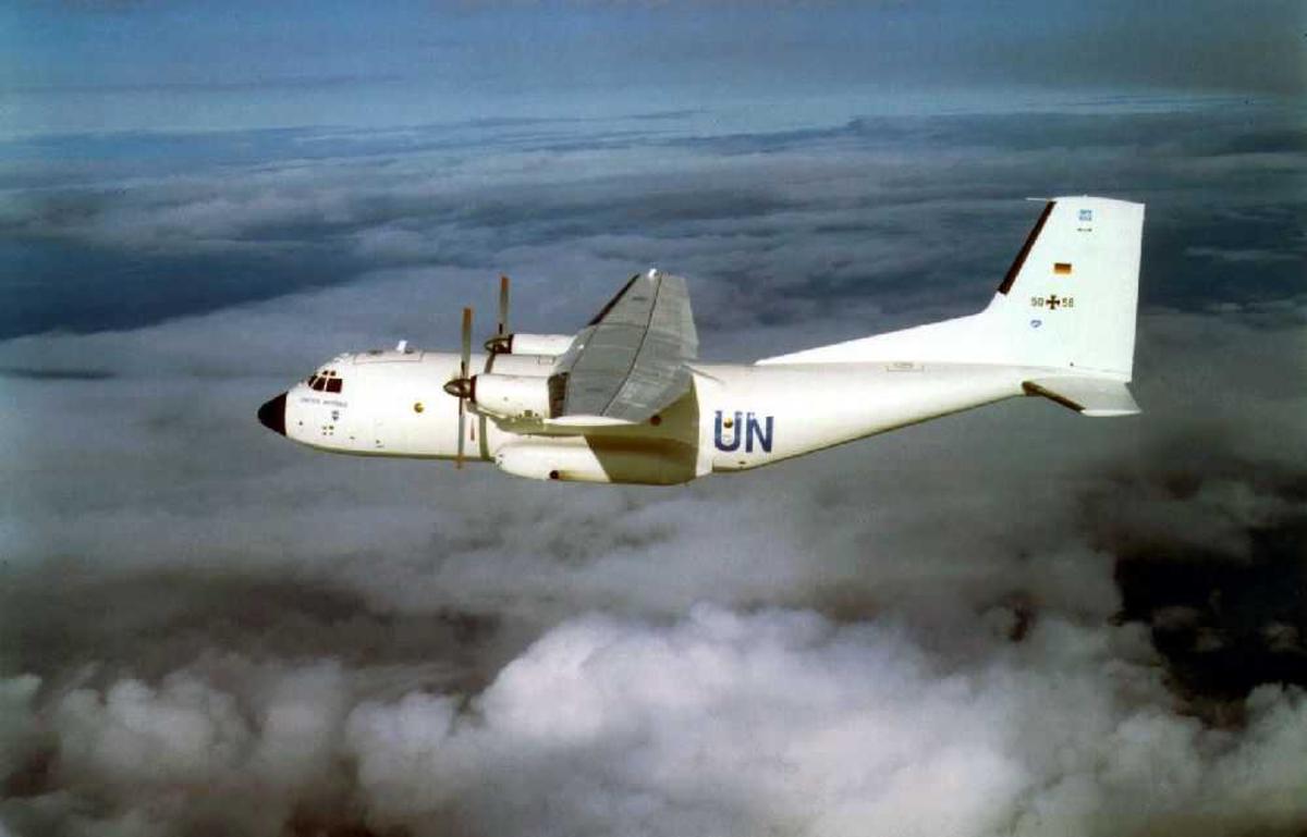 Ett fly i lufta. C-160 Transall, UN 50-58