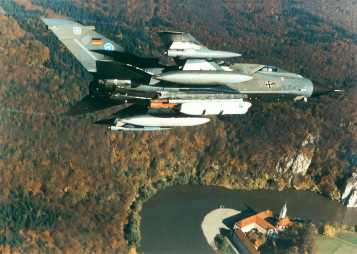 Ett fly i lufta. Panavia Tornado IDS, 4549
