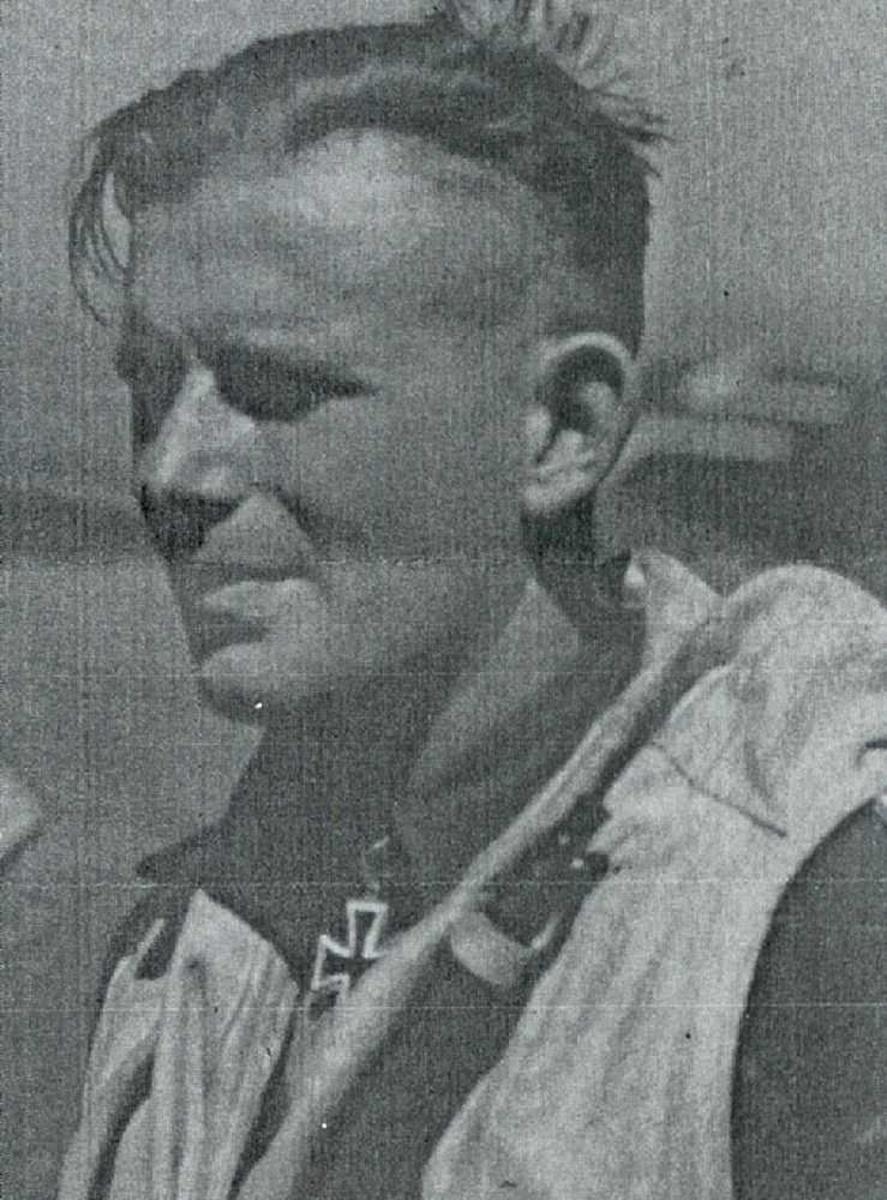 Portrett av tysk militær.