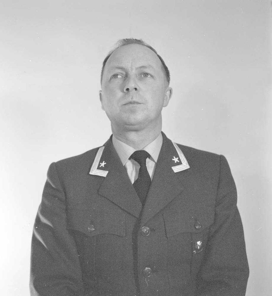 Portrett av Major Arne Thom, LK-staben.