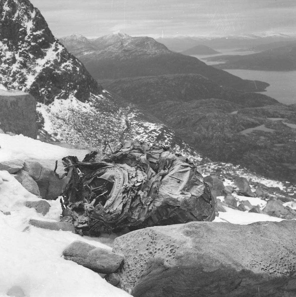 F-86-K, Sabre, havarerte ved Lødingen, Nordland.