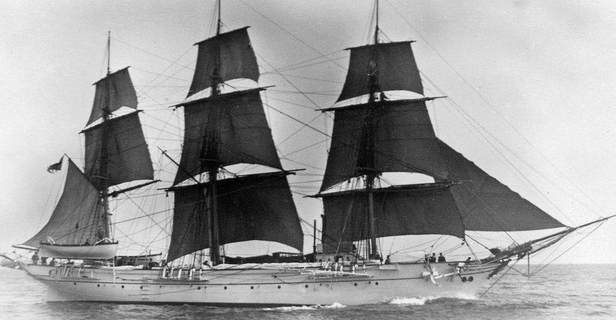 Fartyg: Sf Chapman                      Rederi: Kungliga Flottan, Marinen Övrigt: Till sjöss.