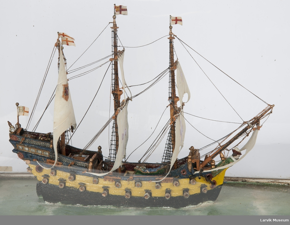 HMS Revenge, fullrigger