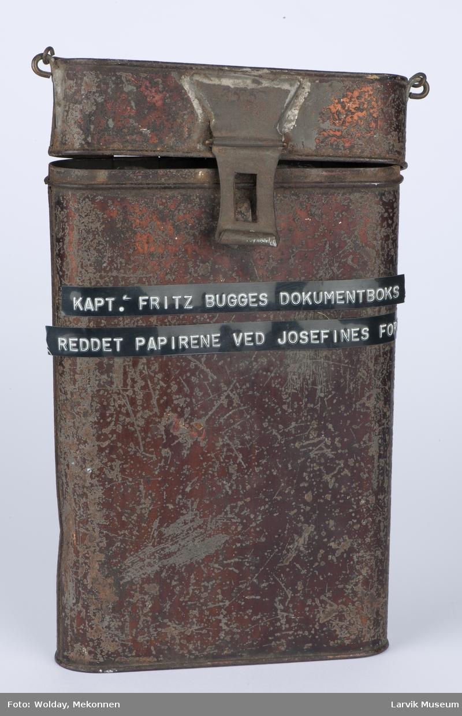 Oppbevaringsboks for skipspapirer