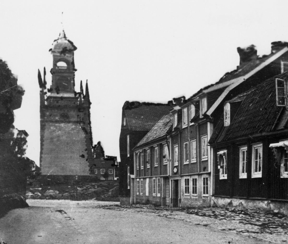 Vallgatan i Karlskrona.