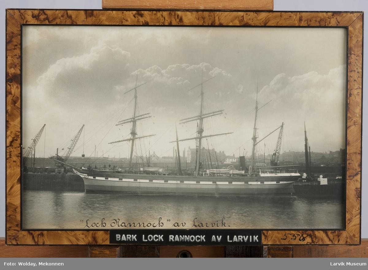 Barken Loch Rannoch