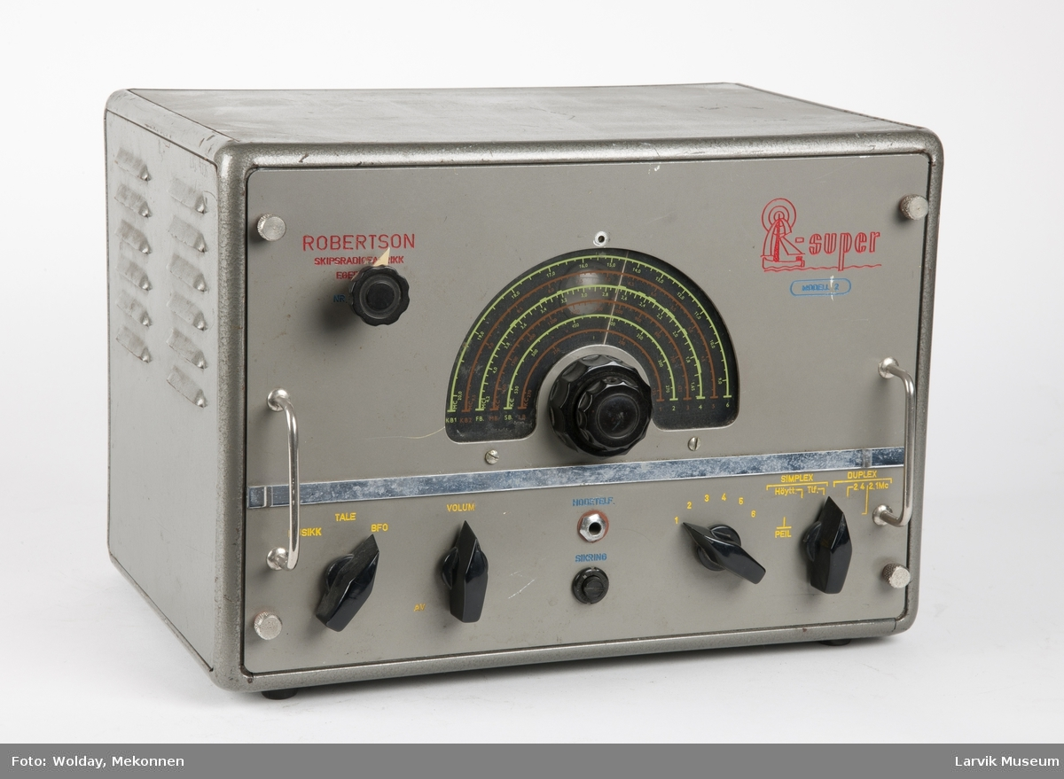 """Radiomottaker """"Super  - modell 2"""""""