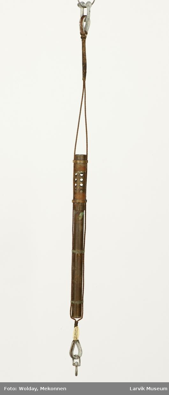 Form: Sylinder Dybdemåler, 2-delt sylinder