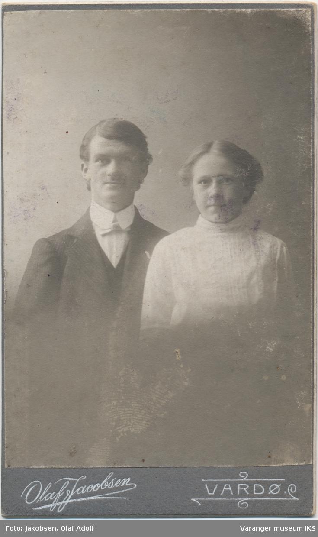 Dobbeltportrett, Karl Pedersen og Margit Moen