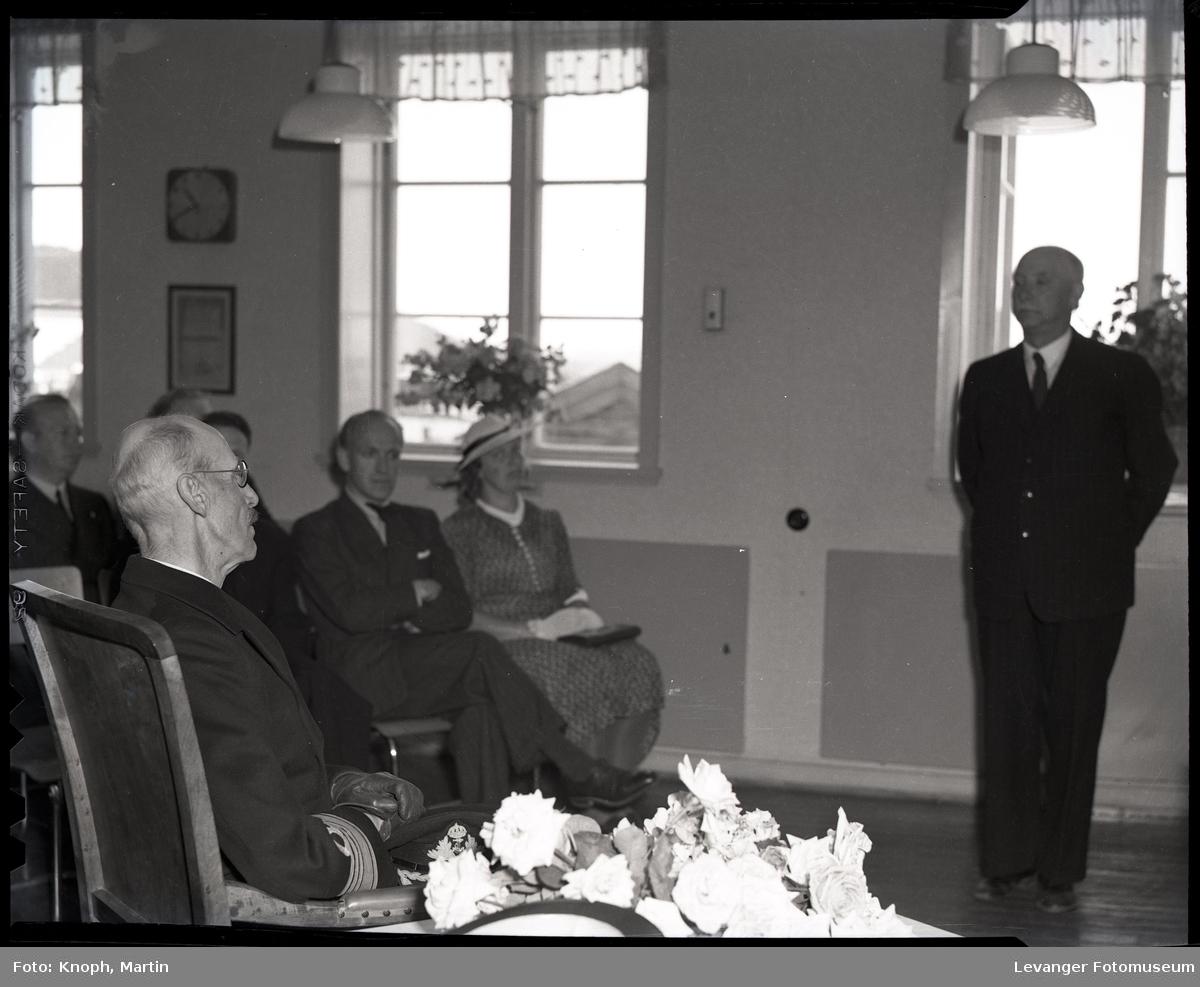 Kongelig besøk tale for kong Haakon.