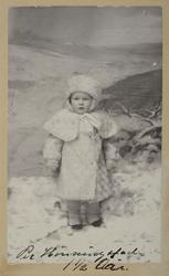 Per Hønningstad f. 06.07.1906,d. 1975. Nørseng, Løten. Portr