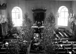 Begravningsgudstjänst i Foss kyrka