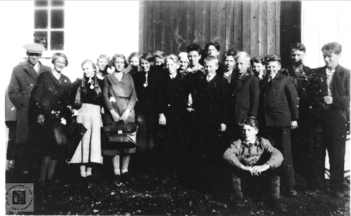 Framhaldskolen på Øyslebø