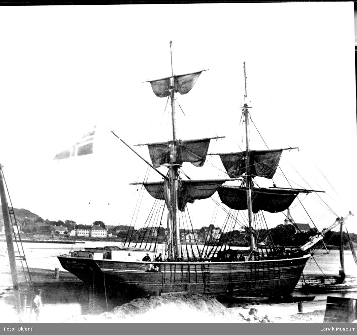 """fartøy, seilskip, """"Scandinavien"""" (?)"""