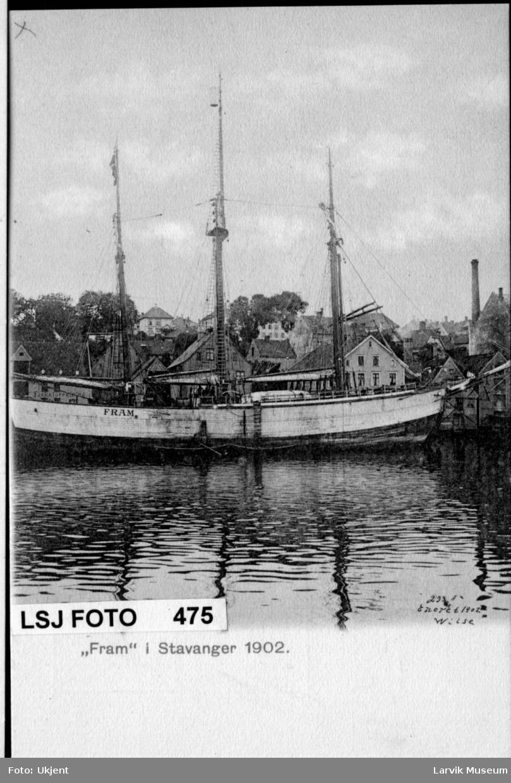 """fartøy, polarskip, """"Fram"""""""