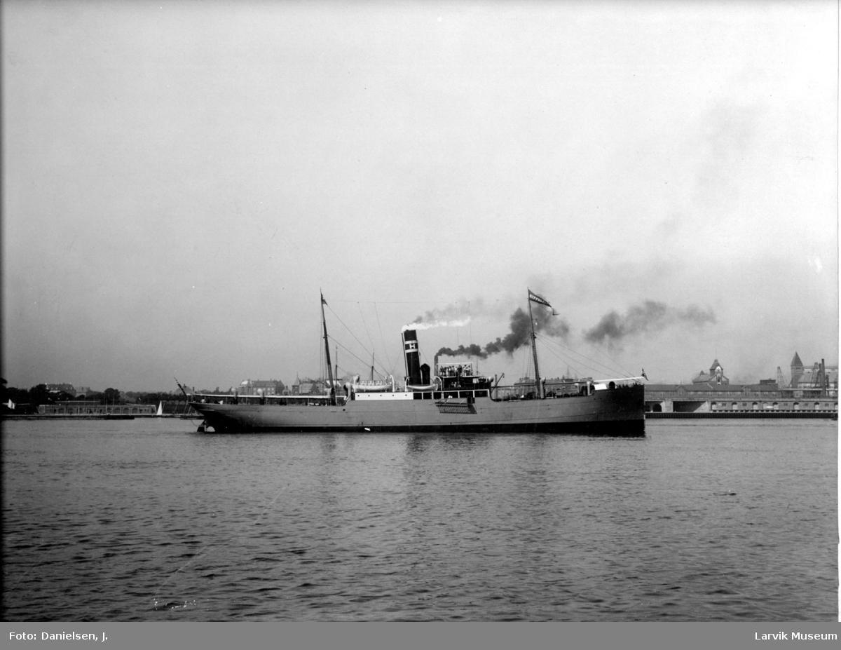 Dampskipet Hippolyte Dumois i København