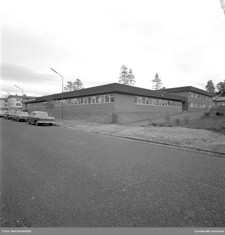 Skogsbrukets datacentral vid Södra Allén, exteriörbilder.