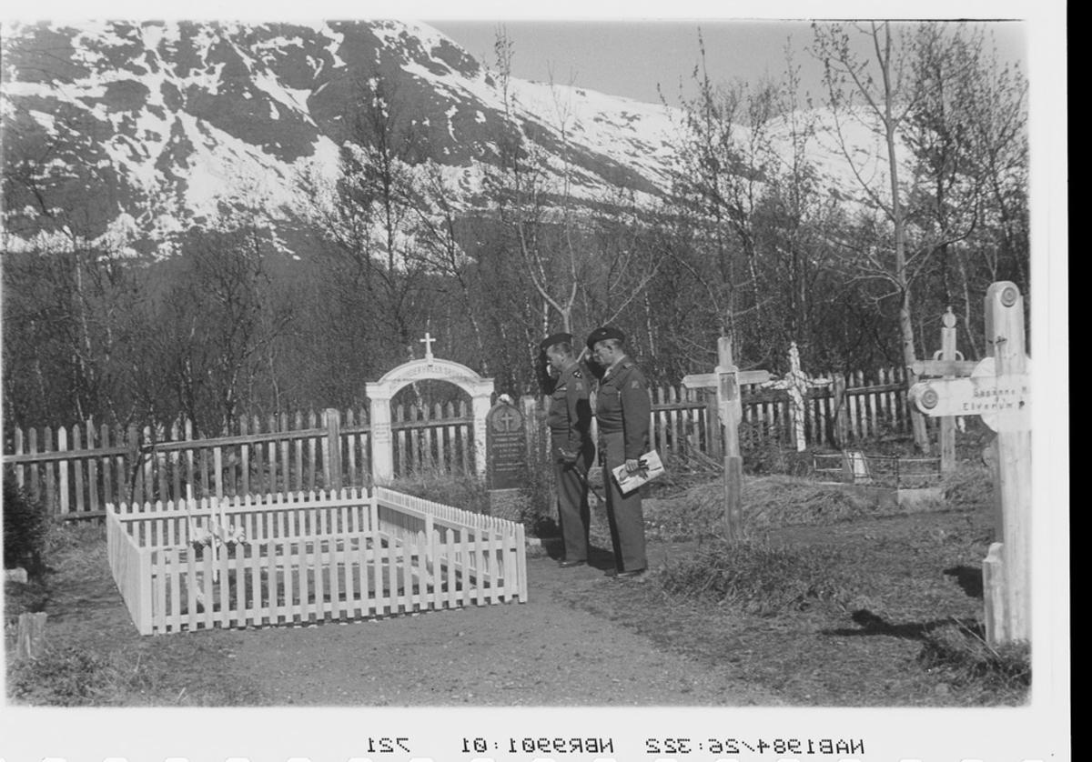 Kirkegård markering 2. verdenskrig Hvor