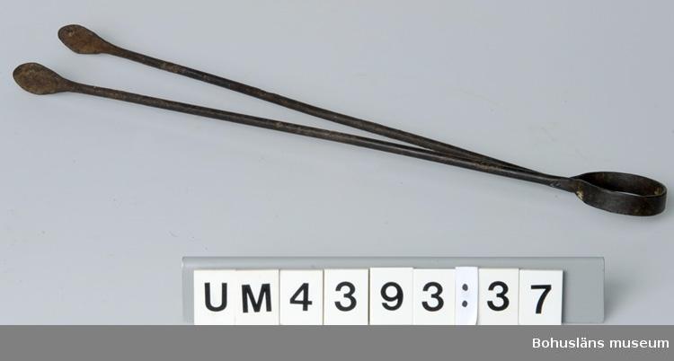 """UM4393: Modell av barkskeppet Adelaide omkatalogiserad till UM25518 p.g.a. dubbelkatalogisering med Frankenbergsamlingen.  Ur handskrivna katalogen 1957-1958: Modell av barkskepp Adeleide Modell i glasmonter. Originalet byggt i Uddevalla 1881. Lappkatalog: 46  UM004393:1-151: Diverse verktyg från kopparslagare Frankenberg, Uddevalla. Se sid. 511 (bilagan). I Årsberättelse 1939 anges under museets nyförvärv: """"Den Frankenbergska samlingen av gamla kopparslageriverktyg (över 100 föremål, som i omnämnda förvärvskatalog endast upptagits som ett nummer)."""