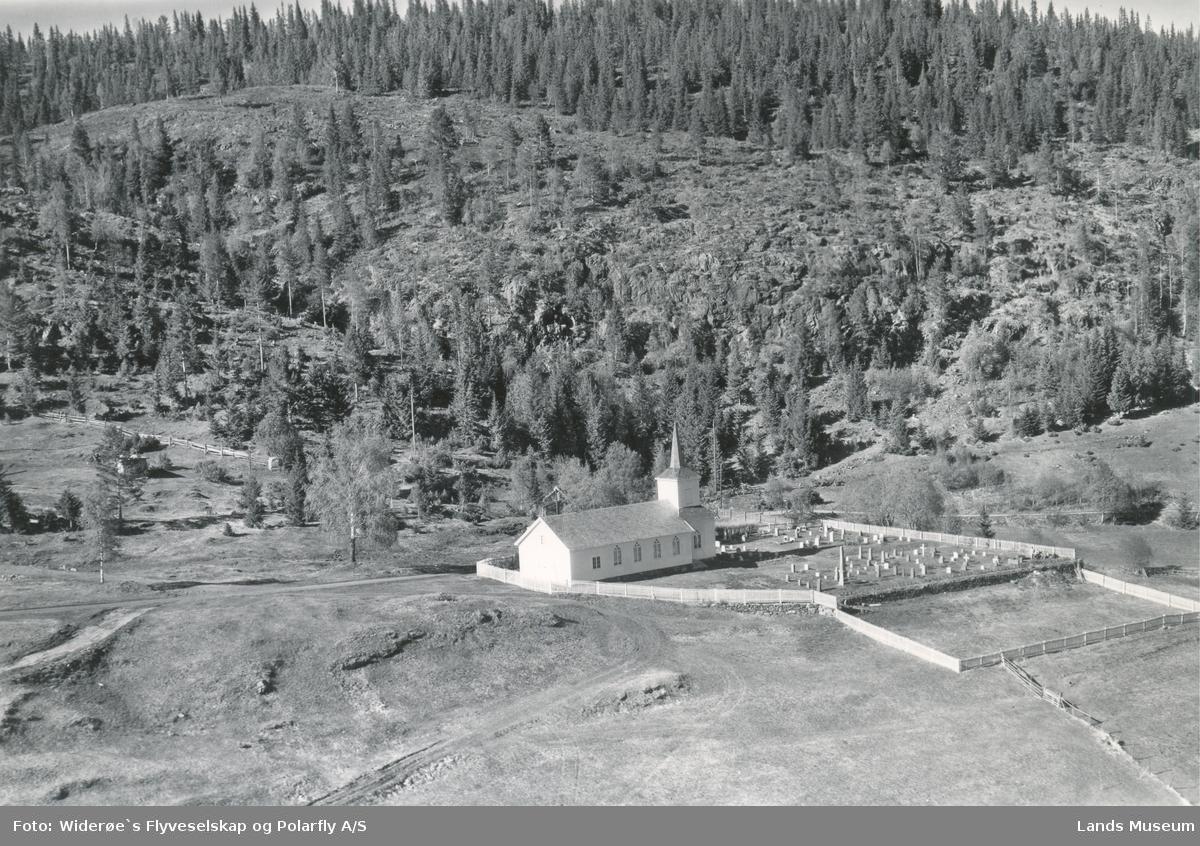 Flyfoto Haugner kapell