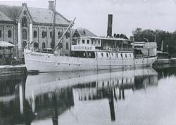 Passagerarångfartyget ESKILSTUNA II av Eskilstuna i Eskilstu