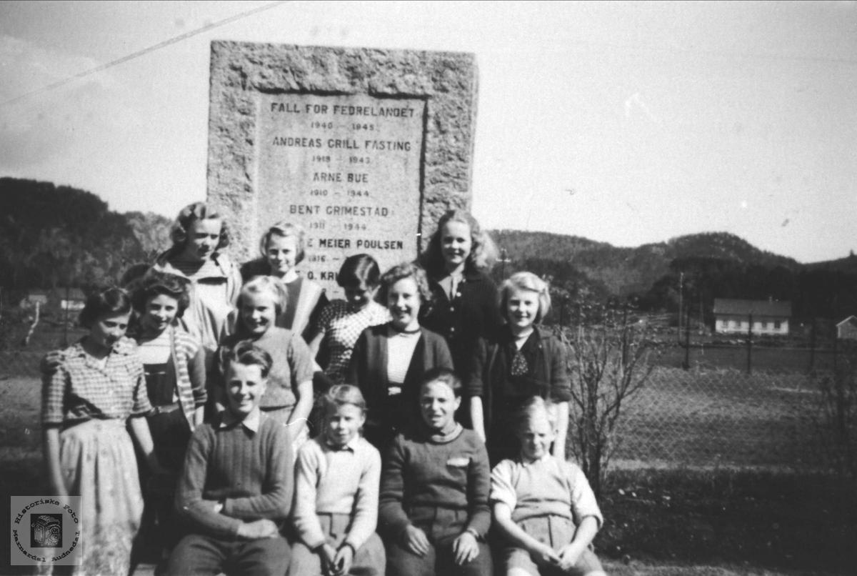Skoleklasse, Øyslebø