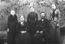 Gruppe Usland folk