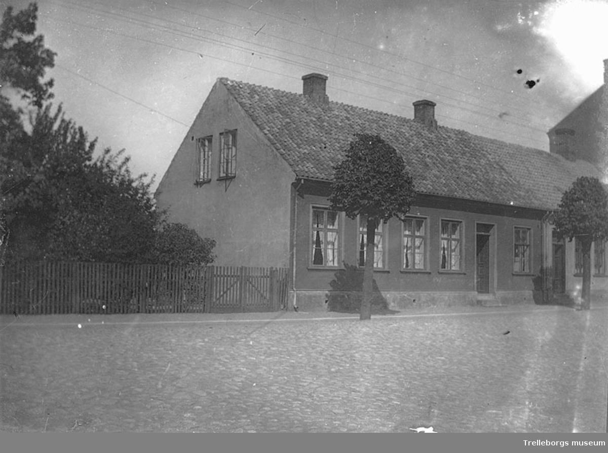 Hus utmed Nygatan