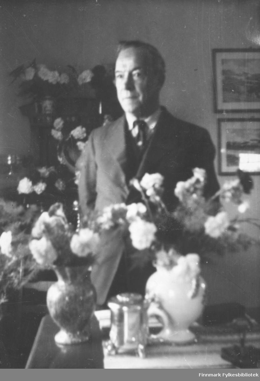 Halfdan Kvam på hans 60-årsdag, 14.7.1953