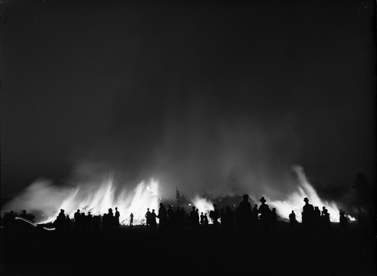Valborgsmässofirande på Rackarberget, Luthagen