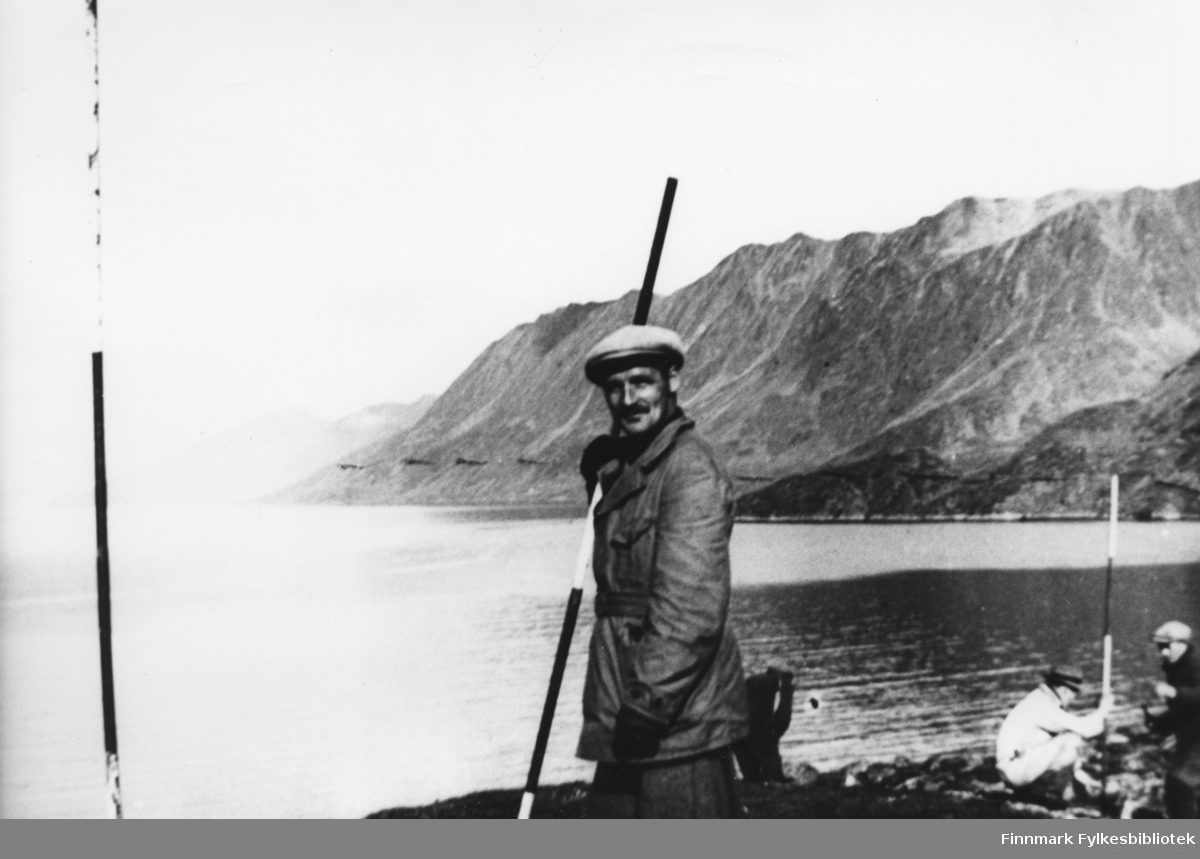 Stikningsarbeide, Eilif Lindjordet. 02.-19.09.1940.