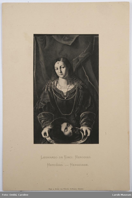 Leonardo Da Vince: Herodias