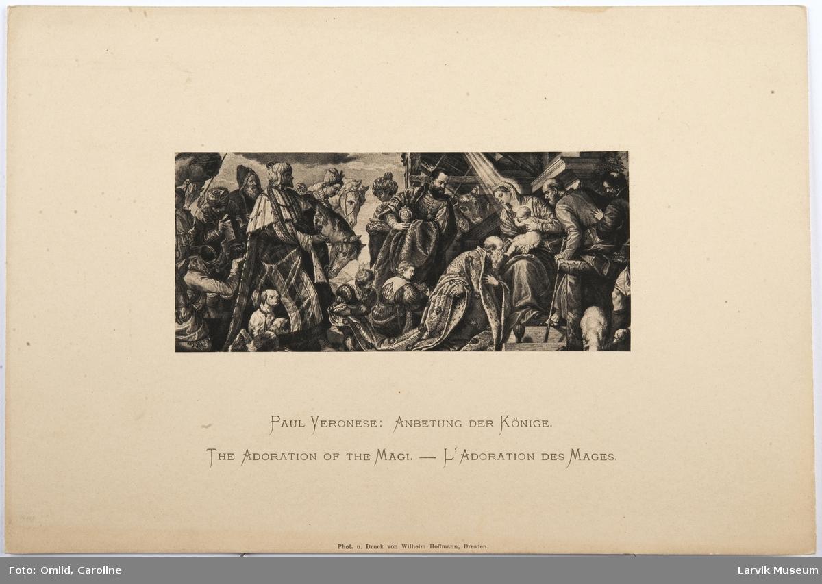 Paul Veronese: Anbetung der Könige.