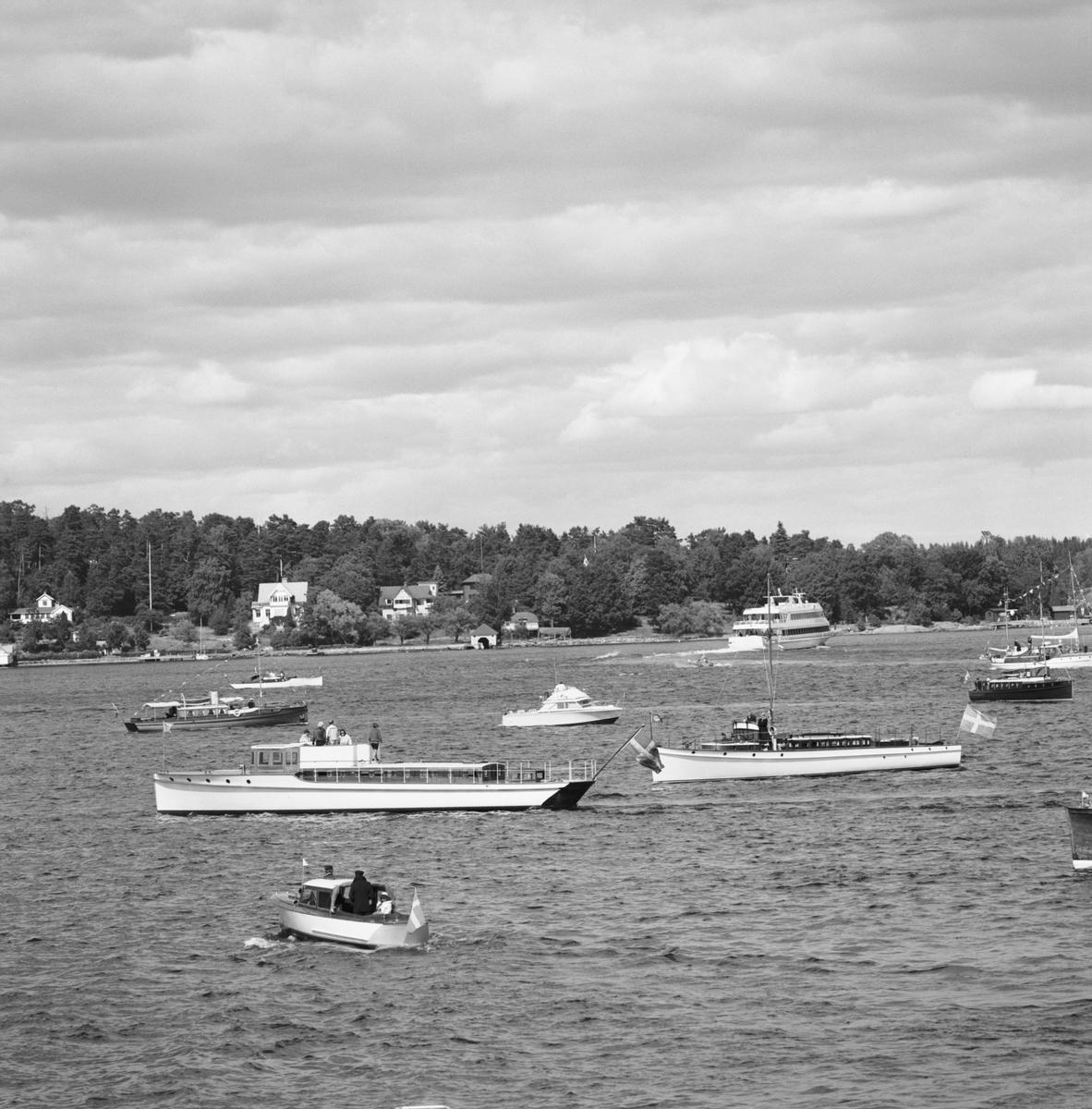 Övrigt: Classic Yacht Festival i Vaxholm 3-5 Juli 1992 Fototillfälle:920704-120