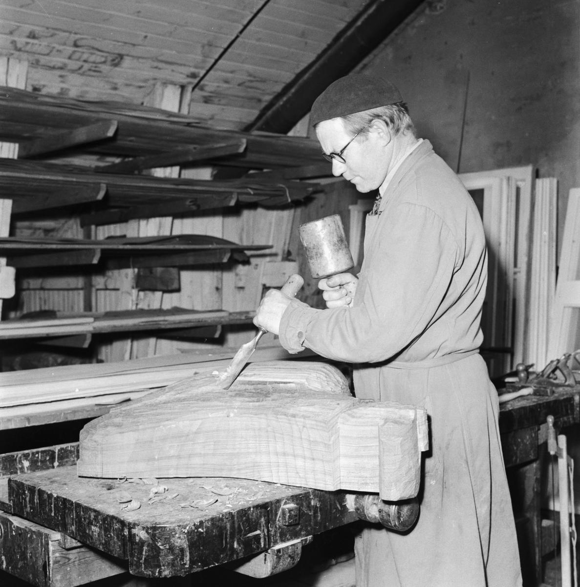 Övrigt: Foto datum: 2/6 1956 Byggnader och kranar Rosenbom nytillverkning