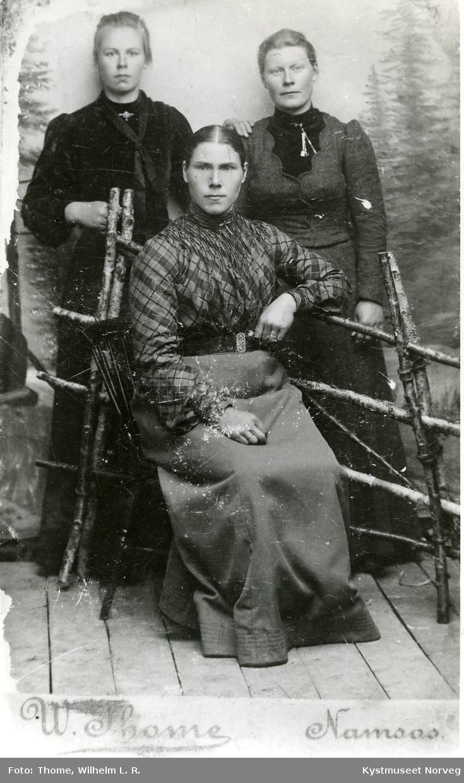 Dina Horven, Ida Kiil Kjærstad og Kristine Horven