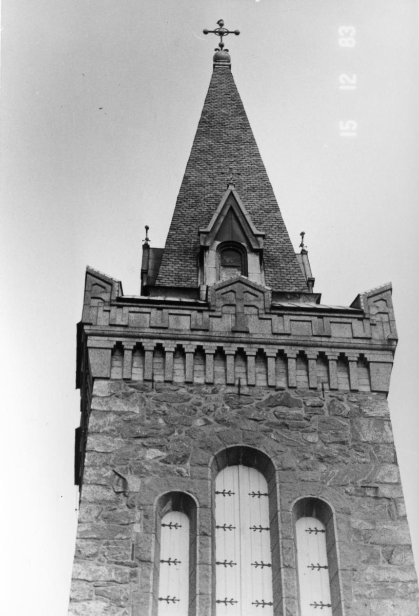 Trollhättan, Gärdhems kyrka, Del av kyrktorn