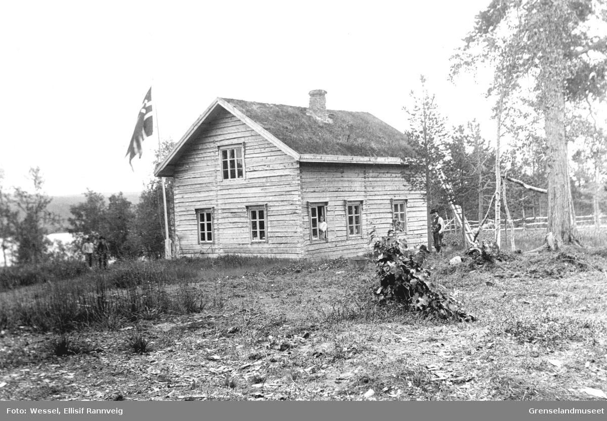 Skogvokterboligen Nesheim i Pasvikdalen.