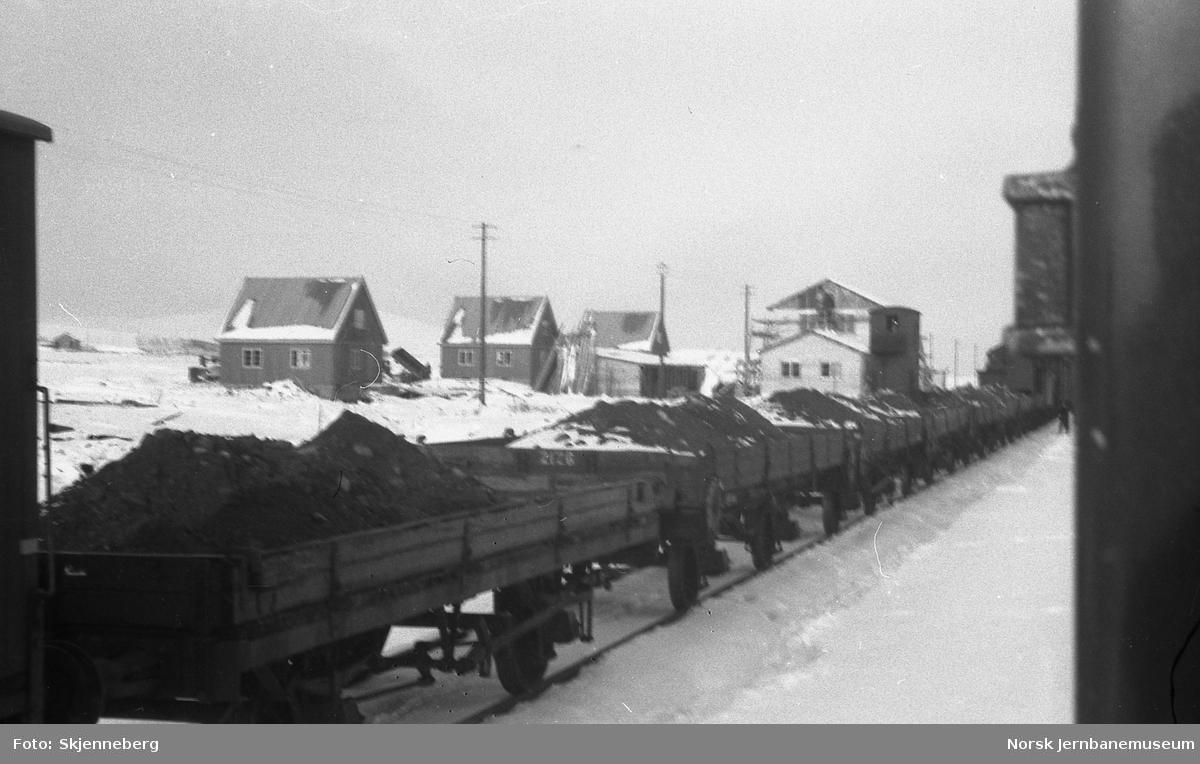 Semska stasjon med arbeidstog