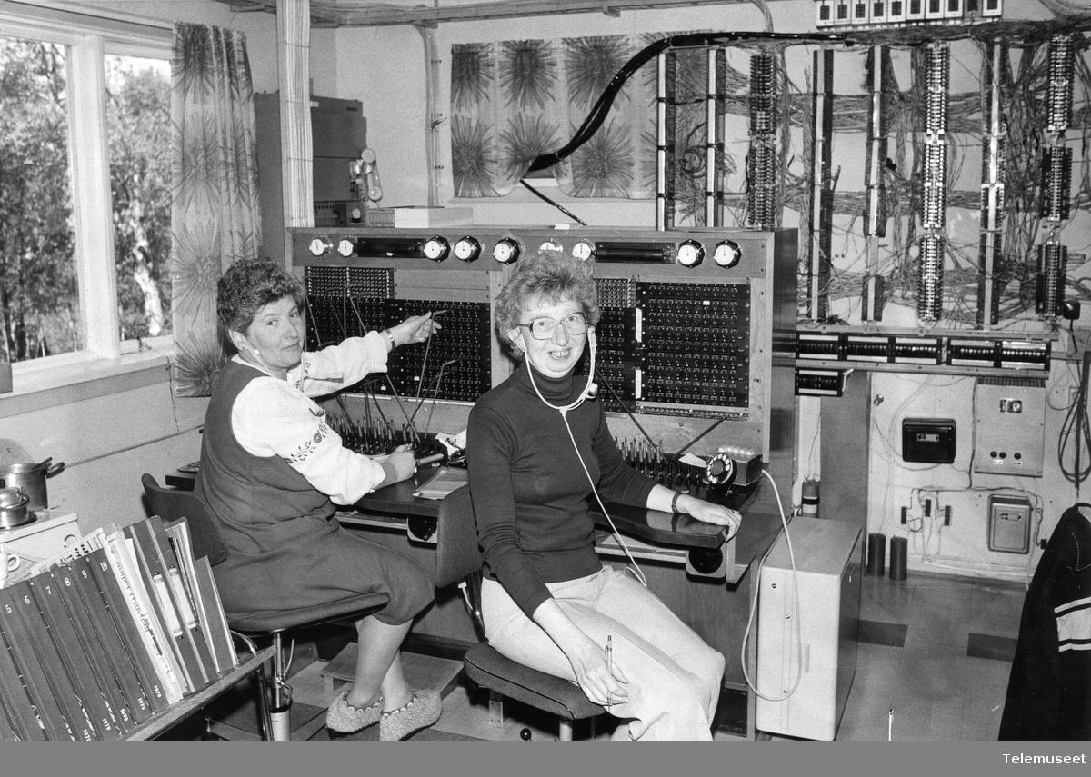 Manuelle telefonsentraler automatisering Molde teleområde